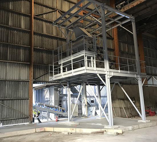 Construction métallique en Aquitaine